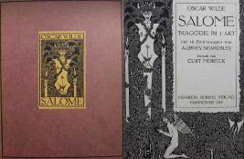 """Buch - Oscar Wilde """"Salome"""" Tragödie in 1 Akt mit 16 Zeichnungen von Aubrey Beardsley, Deutsch von"""