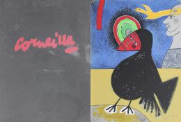 "Mappenwerk - Cornelis Corneille (1922 Lüttich - 05.09.2010 Auvers sur Oise) ""Edgar Allan Poe - The"