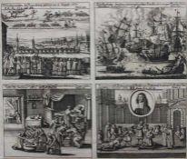 Grafik aus dem 17./18.Jahrhundert 1.Wunderzeichen zu Regensburg gesehen am 18. August 1671 - Ansicht