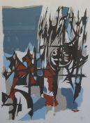 "Farbserigraphie - Willi Ulfig (26.11.1910 Breslau - 4.2.1983 Regensburg) ""Regensburg"", r.u."