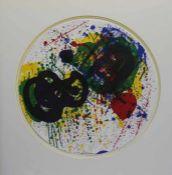 "Farblithographie - Sam Francis (1923 San Mateo - 1994 Santa Monica/CA) ""Ohne Titel"", u.M."
