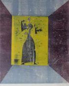 """Große Farblithographie - Winfried Tonner (1937 Brünn - 2002 München) """"Ohne Titel"""", r.u."""