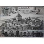 """Lot Kupferstiche - Michael Wening (1645 Nürnberg - 1718 München) """"Schloß Egglkofen, Schloß"""