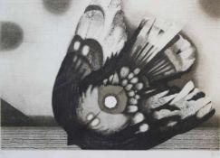 """Lot Farbradierungen - Heinrich Heuer (1934 Sophienhof - lebt in Wien) """"Ohne Titel"""", r.u."""