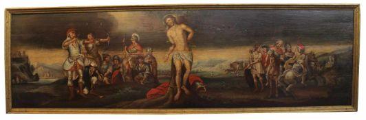 """Gemälde - wohl Österreich 18.Jahrhundert """"Martyrium des Heiligen Sebastian"""", Erinnerungen an die"""