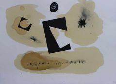 """Collage - Gerd Popp (XX.Jahrhundert) """"Ohne Titel"""", rückseitig signiert und datiert 1995, auf Papier,"""