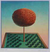 "Farbserigraphie - Rudolf Hausner (1914 Wien - 1995 Mödling) ""Adams Lebensbaum"", r.u."