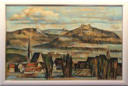 """Gemälde - Anton Greiner (1914 Bamberg - 2007) """"Giechburg bei Bamberg"""", r.o. signiert und datiert 78,"""