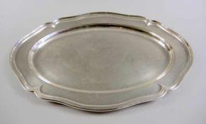 Große Fleischplatte Sterling Silber 925, Halbmond und Krone, Sichelmond für MH Wilkens & Söhne