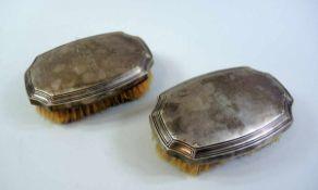 Tiffany & Co Bürsten Sterling Silber, einzeln seitlich mit Herstellername, Muster- und