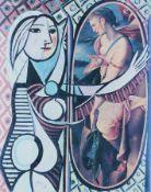 Jiri Kolar 1914 Pöchlarn - 2002 Prag Halbakt/Büsten 2 Collagen mit Offset auf Papier; jeweils