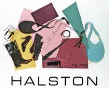 Andy Warhol 1928 Pittsburgh - 1987 New York Halston Zwei Siebdrucke auf Papier, 1982; H 575 mm, B