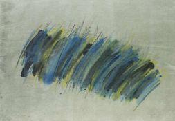 Winfred Gaul Düsseldorf 1928 - 2003 Schraffuren Pastellkreide auf Papier; H 540 mm, B 757 mm;