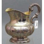 Milchkanne, 19. Jh. Augsburg Silber, punziert, Augsburg, Johann Georg Christoph Neus 1774-1857,