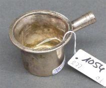 Tessieb 19. Jh., Silber, Stiel fehlt, ca. 24 g schwer,