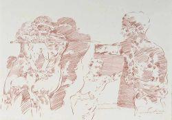 Griesel, Bruno (geb. 1960 in Jena, 1981-86 Studium an der HGB in Leipzig bei Volker Stelzmann,