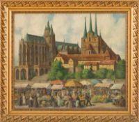 Arndts, Otto (geb. 1879 Marburg, später Berlin, nannte sich Arndts-Charlottenburg) Markttag auf
