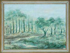 Duve, Gebhard (1899-1977) Drei südafrikanische Landschaften. Teilweise mit Baumgruppen im