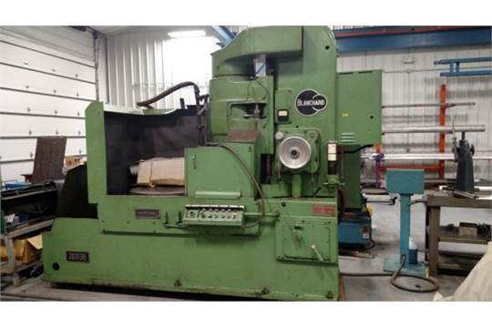 Lot 15 - Blanchard Model 20D36 Rotary Surface Grinder