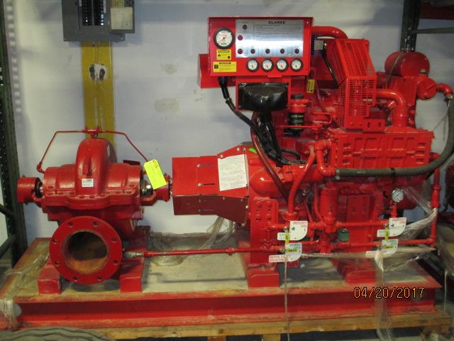 Lot 3 - Clark Fire Pump