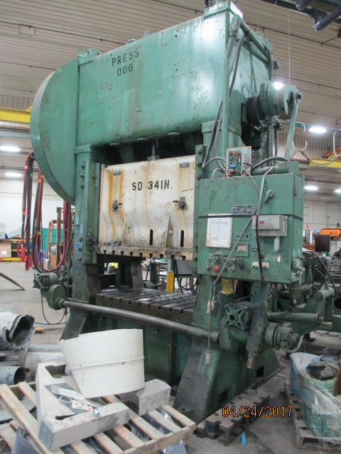 Lot 23 - Warco 300 Ton Straight Side Double Crank Press