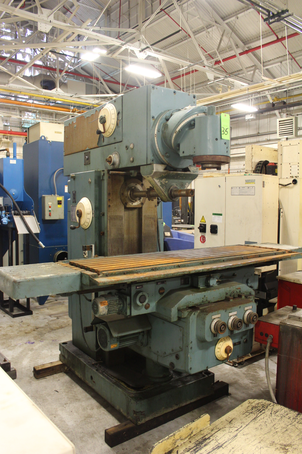 Lot 35 - Heckert Model FW400/SAPUG Vertical / Horizontal Milling Machine