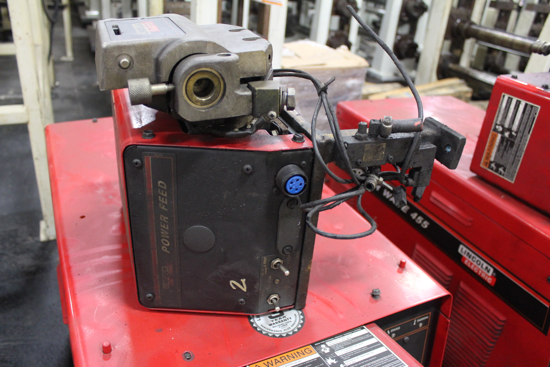Lot 11 - Lincoln Power Wave 455 Welding Power Supply - Angola, Indiana