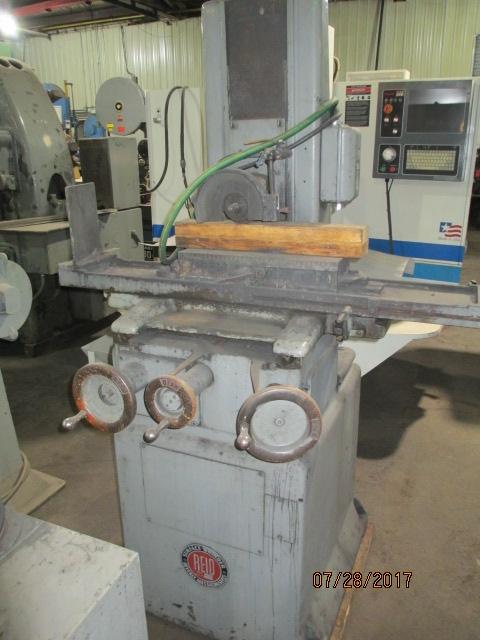 Lot 54 - Reid Model H Hand Feed Surface Grinder - Dryden, MI
