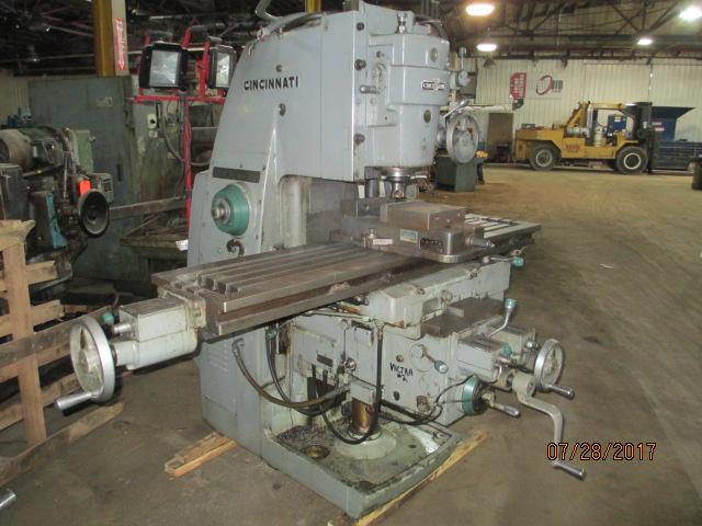 Lot 50 - Cincinnati Model Cinove-80 307-14 Vertical Mill - Dryden, MI