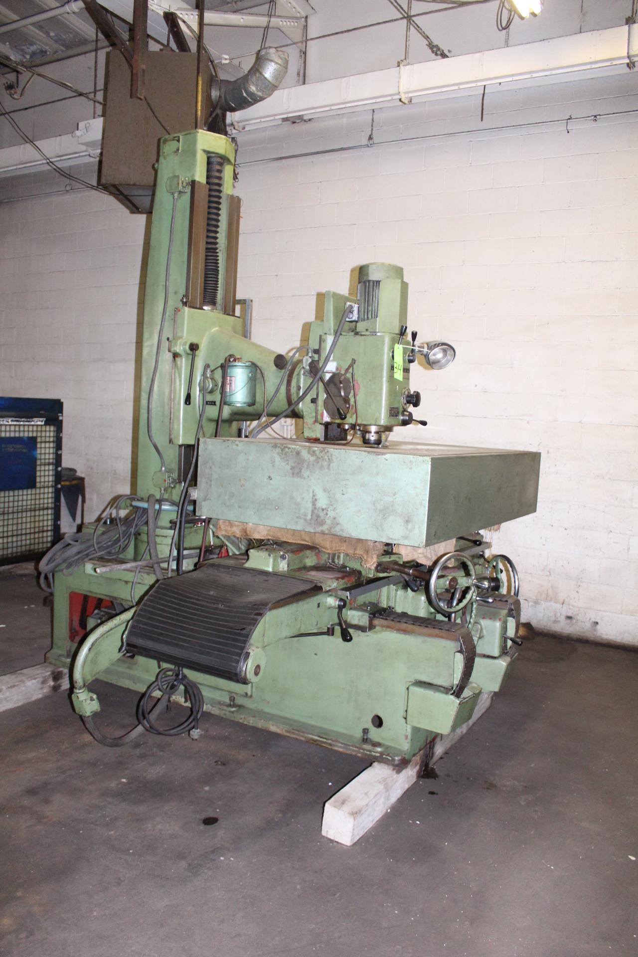 Lot 34 - Zimmerman FZ4 Universal Head Pattern Milling Machine