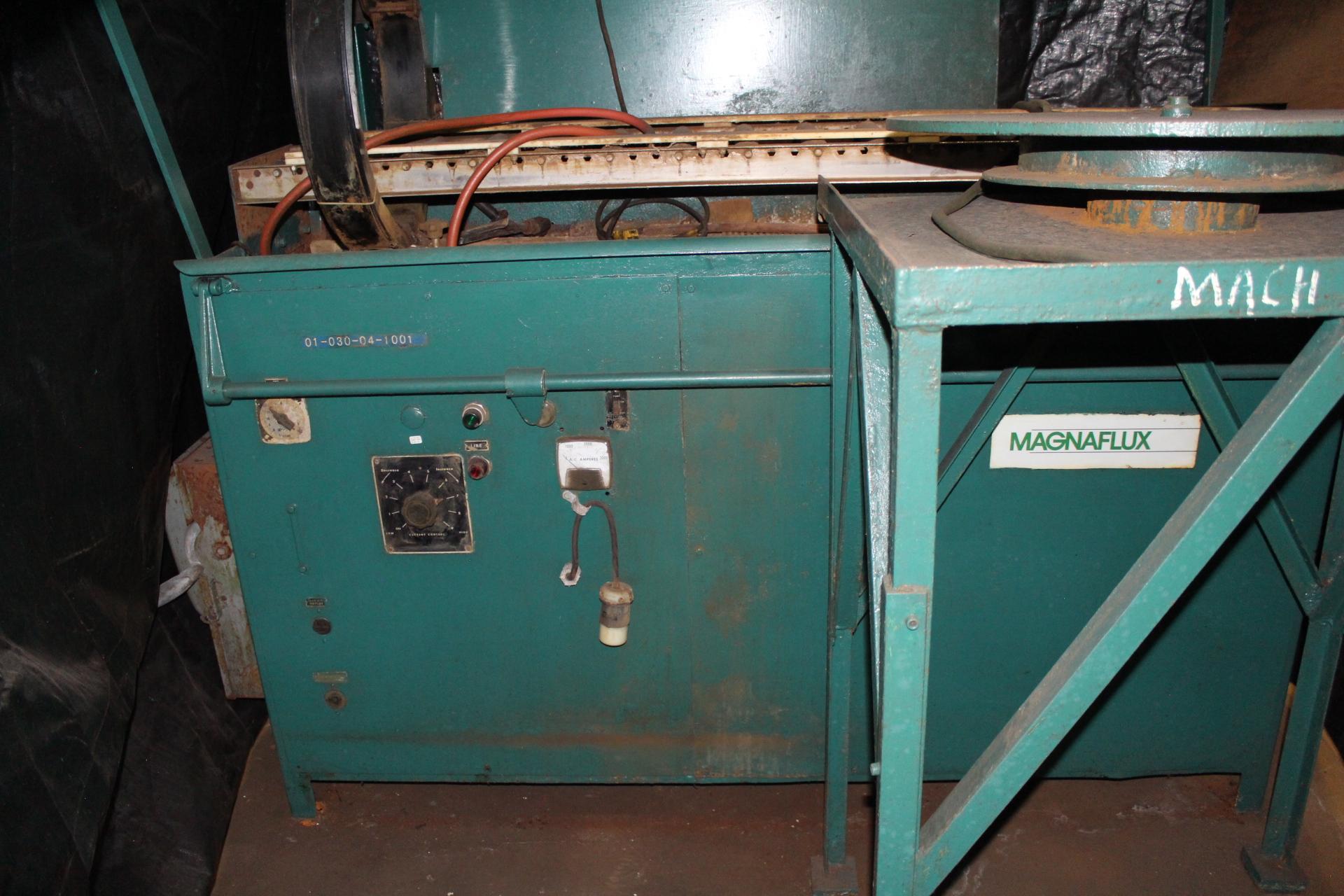 Lot 39 - Magnaflux Type GS-54H Magnetic Particle Inspection Machine