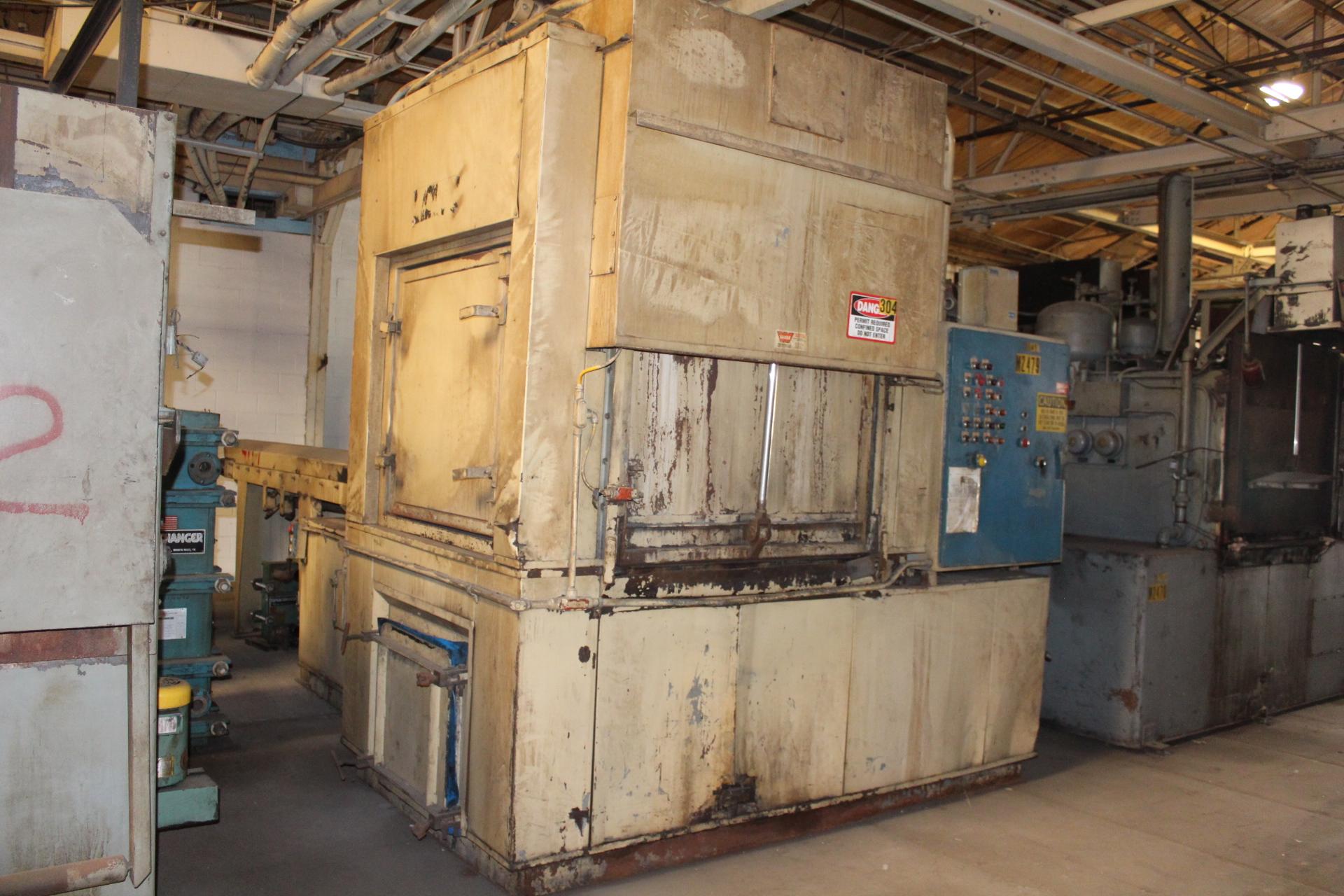 Lot 44 - Industrial Metal Fabricators Batch Type Parts Washer