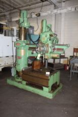"""Lot 33 - Asquith 4' Arm x 9"""" Column Radial Drill"""