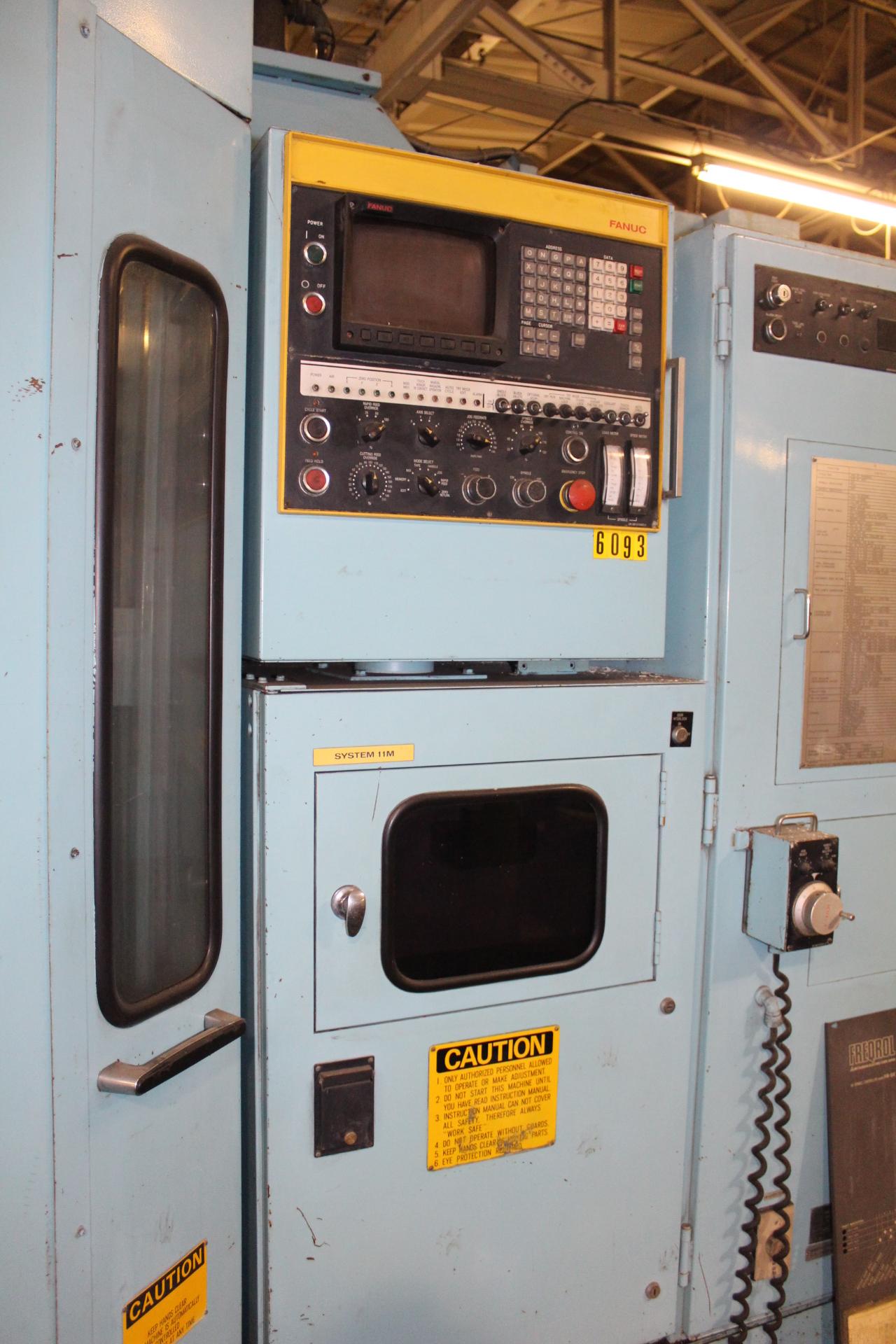 Lot 17 - Toyoda FHN60T Twin Pallet CNC Horizontal Machining Center