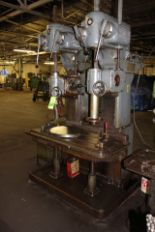 """Lot 60 - Cleerman 24"""" 2-Spindle Heavy Duty Production Drill Press"""