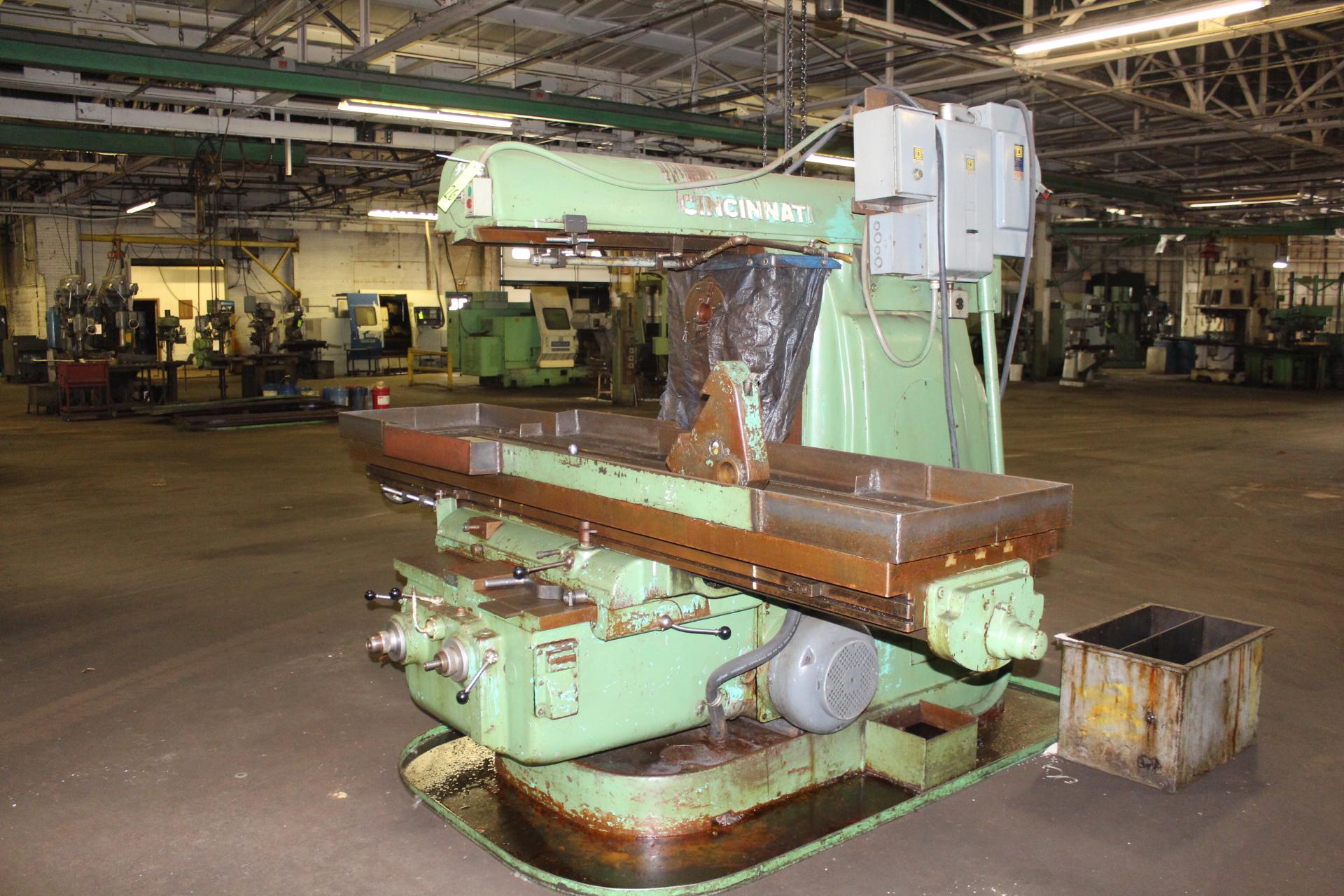 Lot 26 - Cincinnati No. 5 Dial Type Plain Horizontal Milling Machine