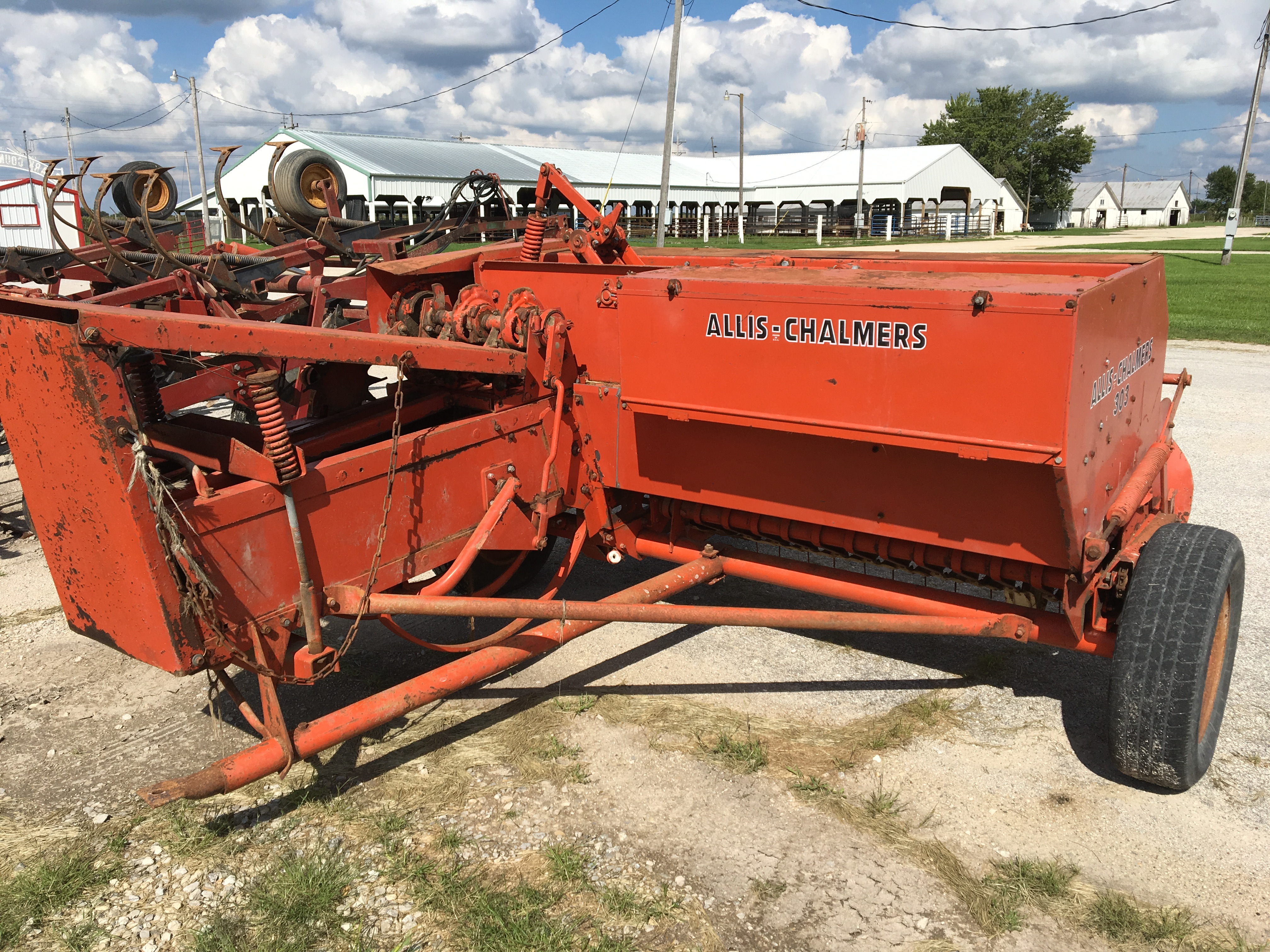 Lot 13 - AC 303 Small Square Baler