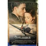 Billboard 'Pearl Harbor' Ben Affleck, 192x96 cm
