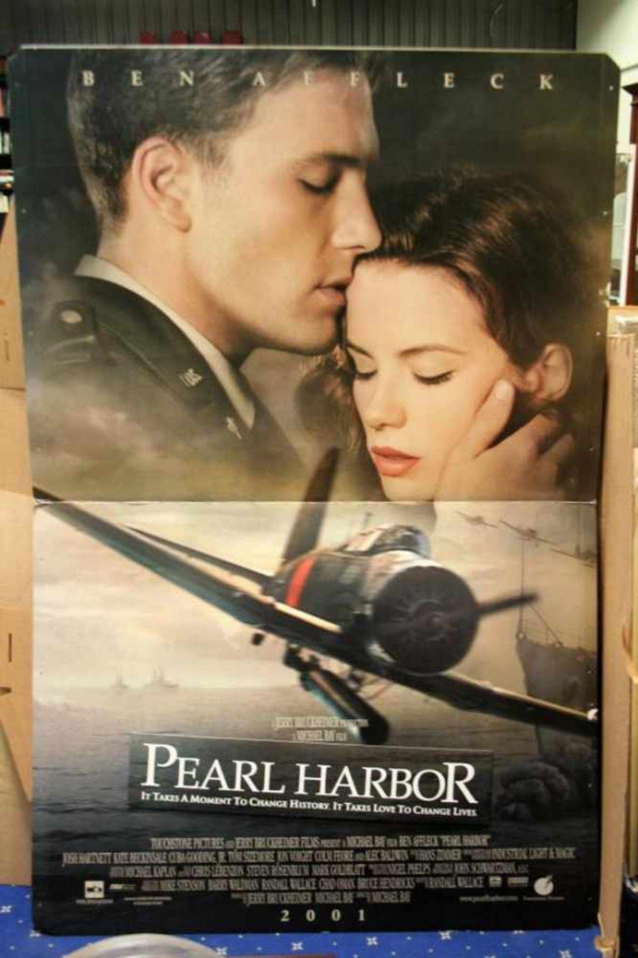 Billboard 'Pearl Harbor' Ben Affleck, 192x96 cm