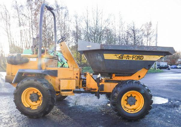 2008 Barford Sxr 6000  6t Swivel Dumper  S  N Sxr62445