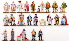 Brandenburg-Preußische Herrscher 1415-1918, komplette Scholtz-Serie, durch wenige Bunzel-Figuren
