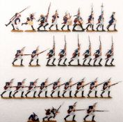 Preußen um 1760, Grenadiere vom Infanterie-Rgt. v. Winterfeldt Nr. 1 im Angriff, Kiel, gute,