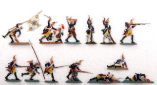 Preußen um 1760, Bataillon Grenadier-Garde v. Retzow Nr. 6 im Dorfkampf, meist Scholtz, gute,