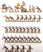 Preußen um 1760, Musketiere vom Infanterie-Rgt. Alt-Braunschweig Nr. 5 im Nahkampf, Grünewald,
