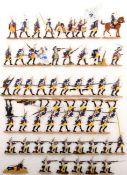 Preußen um 1760, Regiment Garde Nr. 15, 3. Bataillon im Gefecht, meist Scholtz, gute,