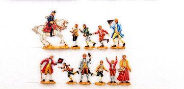 Preußen um 1760, Friedrich der Große und die Schuljugend, Prange/Bunzel, sehr gute, schattierte