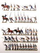 Preußen um 1760, Infanterie-Rgt. v. Itzenplitz Nr. 13, Grenadiere, Angriffs-Peloton, Grünewald,