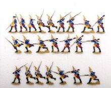 Preußen um 1760, Infanterie-Rgt. v. Knobloch Nr. 10, Grenadiere im Nahkampf, Heinrichsen, gute,