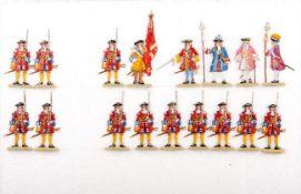 Brandenburg-Schwedischer Krieg 1674-79, brandenburgische Infanterie angetreten, Kovar, sehr gute,