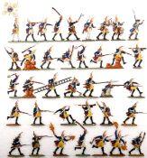Preußen um 1760, Bataillon Grenadier-Garde v. Retzow Nr. 6 im Dorfkampf, meist Scholtz, sehr gute,